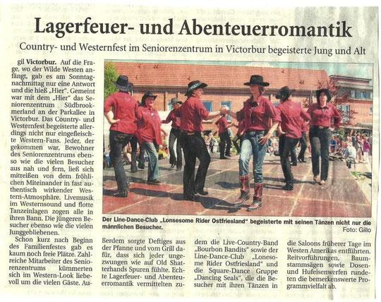 Ostfriesische Nachrichten, 29.07.10