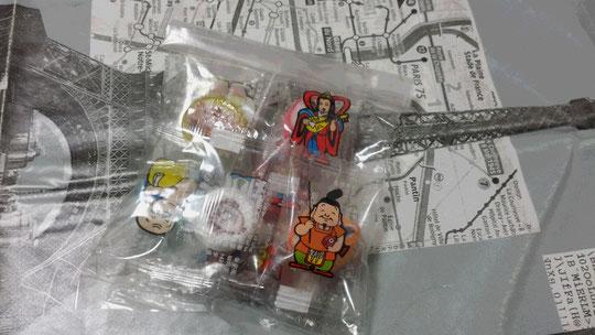 Des bonbons très mignons pour attirer la chance!