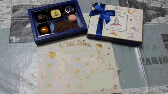 Des chocolats Le Petit Prince pour la Saint-Valentin
