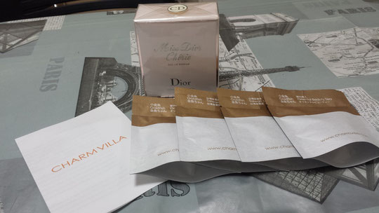 Un parfum Dior, Miss Dior chérie, et du thé
