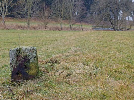 Grenze Dunningen/Lackendorf, an der Eschach
