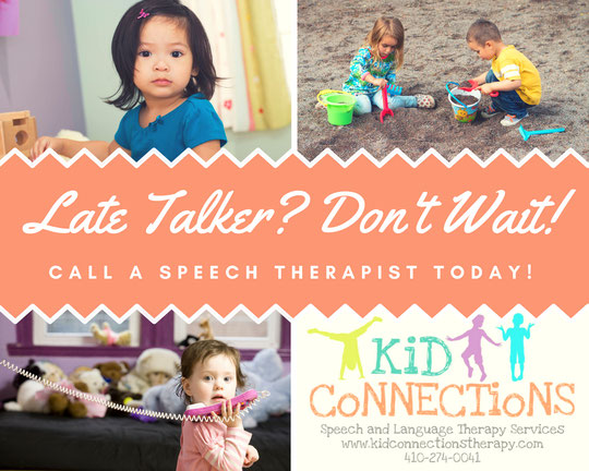 Late talking is a common concern for parents. Have your late talker evaluated.