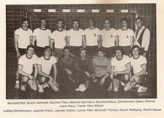 Die Meistermannschaft von 1978/79?
