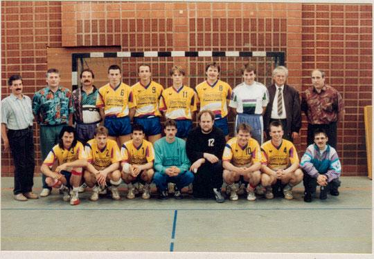 1993 wurde die Oberliga-Meisterschaft gefeiert. Wer kennt die Protagonisten?