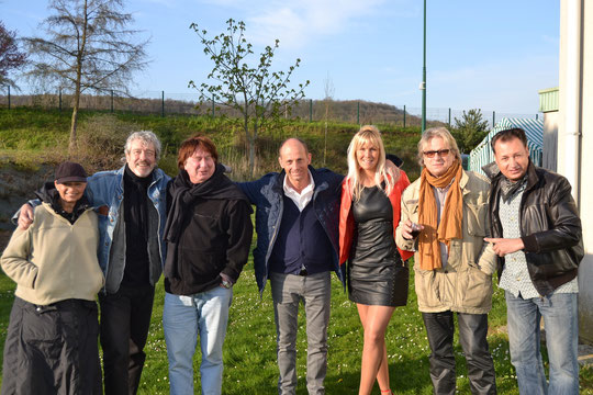 Patrick Ré, Bernard Sauvat,Jean Lou Animateur, Alain Turban, Ted Sanders( Avril 2013)