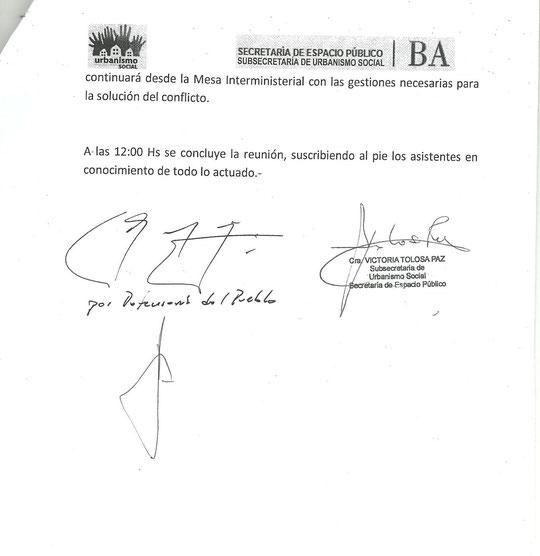 Acta Reunion con la Mesa Provincial (13 de noviembre de 2012)