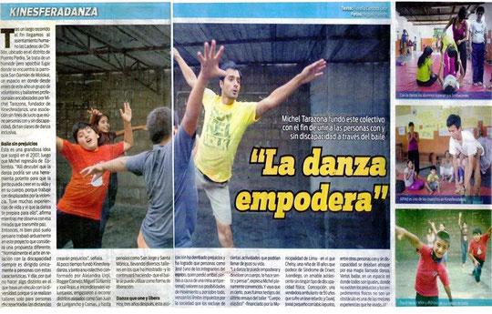 """""""La danza emporada""""; Diaro El Ojo"""