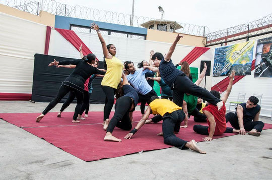 Danza Pacifica; Centro penitenciario «Virgen de Fatima»; Junio-Julio 2012