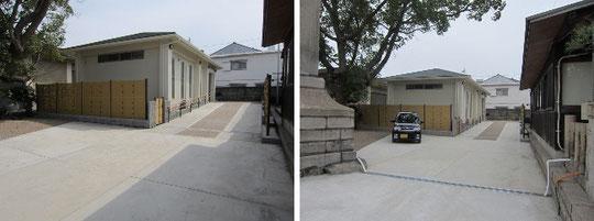 NHK大河ドラマ平清盛ゆかりの和田宮(和田神社)祖霊殿(みたまや)新築および御庭工事竣工写真
