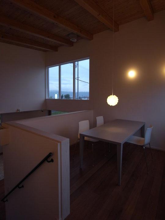 ヤマショー 薪ストーブショールーム 安曇野市 建築家 建築設計事務所 店舗設計 現場監理 照明 家具搬入
