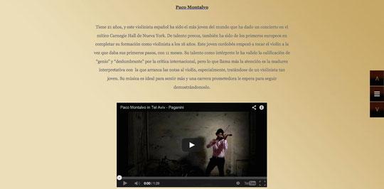 Paco Montalvo, Joshua Bell, Heifetz