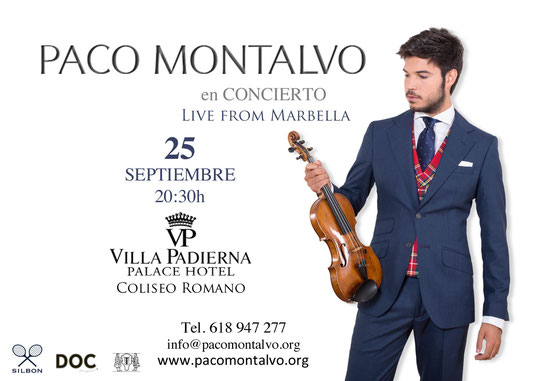 Paco Montalvo live from Marbella