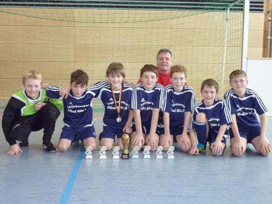 UTP-Cup Sieger SC Kirchenthumbach