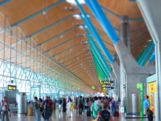 - Aeropuerto de Madrid Barajas -