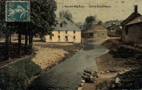Au bord de l'Oise, à Neuve-Maison.