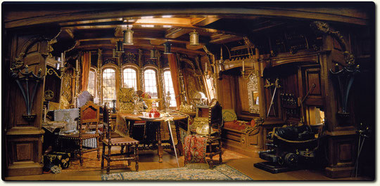 Pirate Captain´s Cabin By Hernry Kupjack.