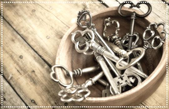 Schlüssel, Schloss.