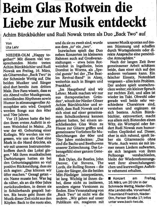 Mainzer Allgemeine Zeitung Vorstellung