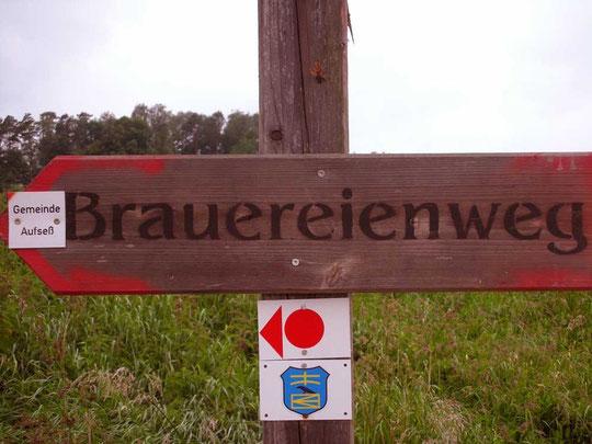 14 km lang mit 4 Brauerei-Stopps