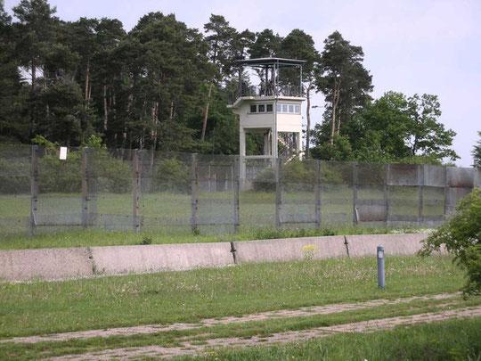 Grenzturm auf BRD-Gebiet