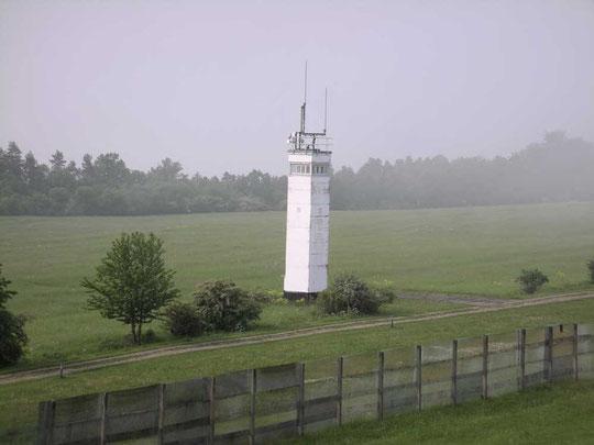 Grenzturm auf ehemals DDR-Seite