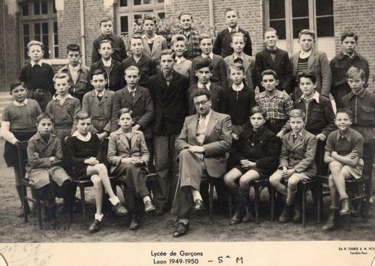 photo de classe Laon 1950-5M