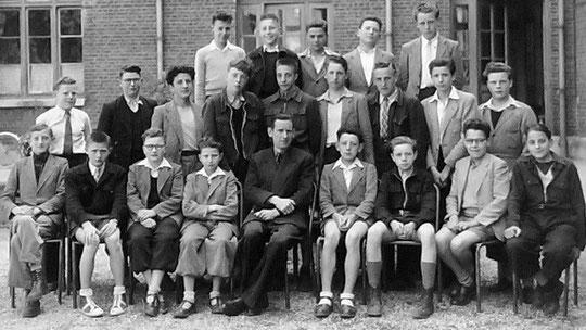 photo de classe Laon 1950 4B
