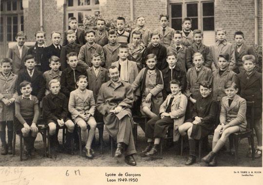photo de classe Laon 1950-6M