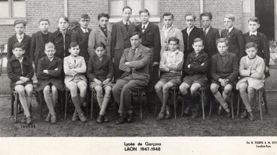 photo de classe Laon 1948 -4AB