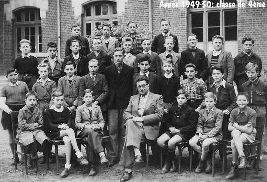photo de classe Laon 1950 - 4