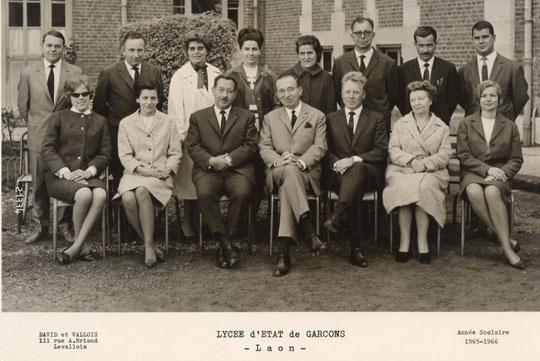 Laon 1966 -profs