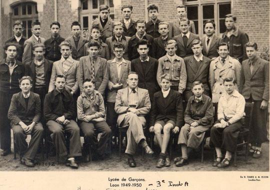 photo de classe Laon 1950 -3IA