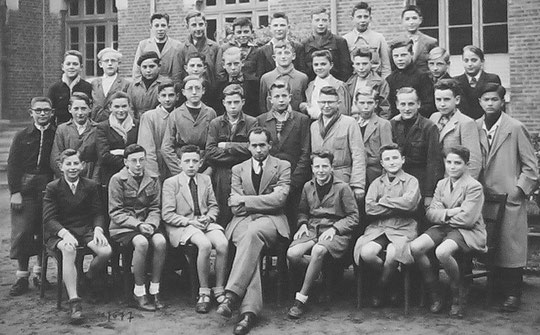 photo de classe Laon 1950 - 4M
