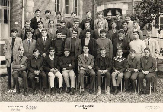 photo de classe Laon 1968 -2 A