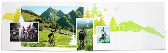 page intérieure de la brochure du val d'arly