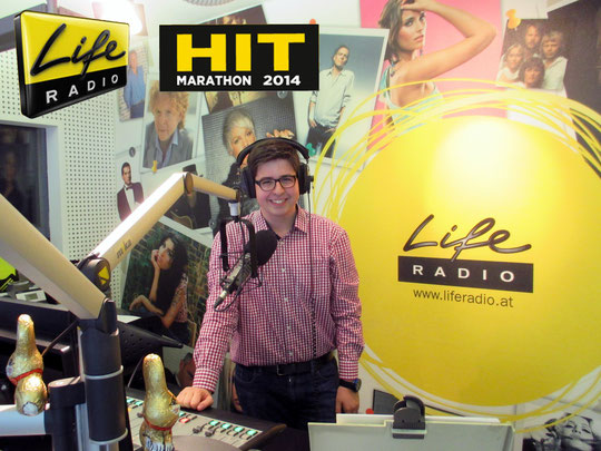 Horst Moser @LifeRadio Studio