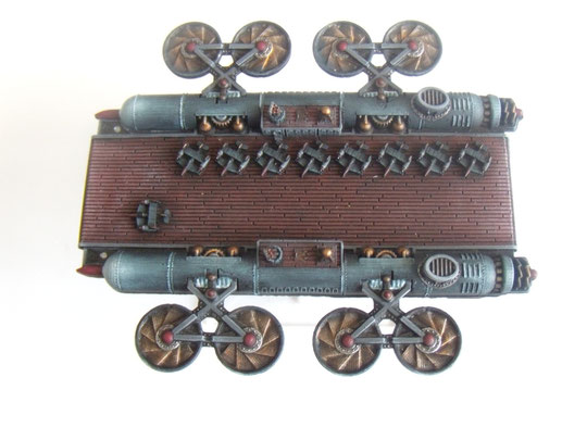 Empire of the Blazing Sun Tenkei Class Sky Fortress dystopian wars