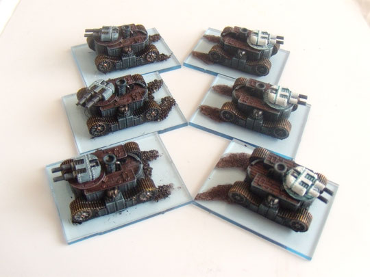 tank empire blazing sun dystopian wars