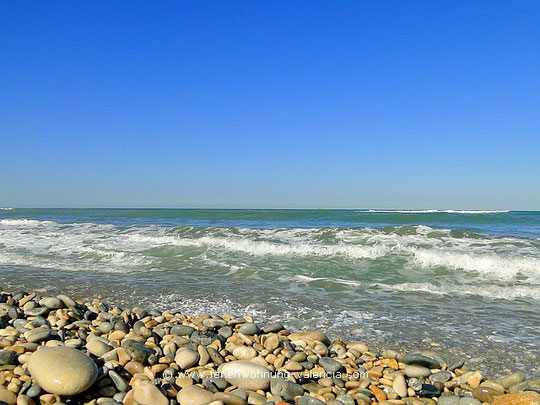 Strand von El Poblet