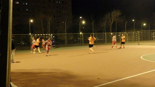 Voluntarias At. Madrid vs I. la Salle