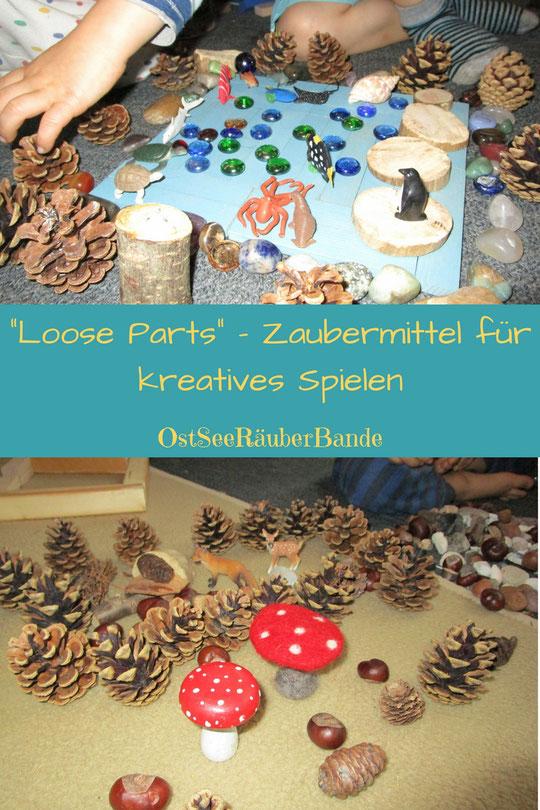 Wie du mit kostengünstigen Loose Parts das Spielverhalten deiner Kinder interessanter gestalten kannst