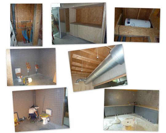 Etat des travaux au 3 novembre 2011