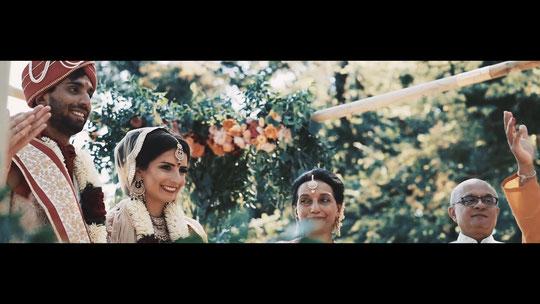 indien mariage vidéo dordogne chateau indian