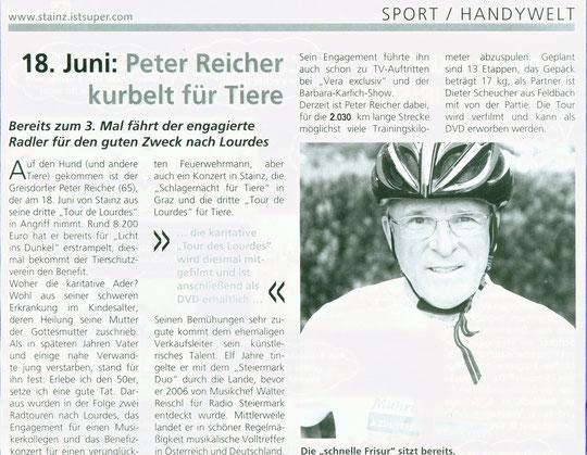 Magazin: Stainz aktuell-Juni 2011