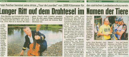 Kronen-Zeitung 2.Juni 2010