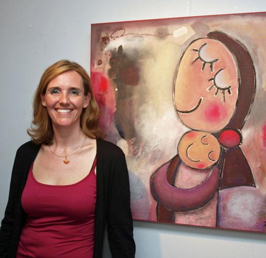 Vernissage der Ausstellung 'Still vergnügt', Galerie Hechelmann in Lindau (2012)