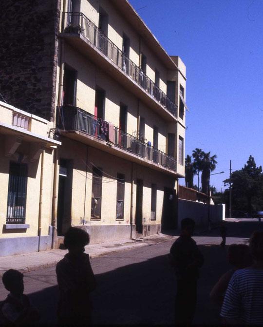 Rue Renan, la maion Maldonado