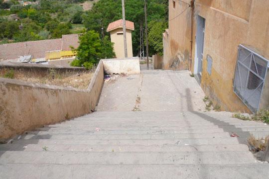 Escaliers, rue des Jardins