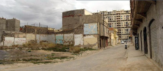La rue Edgard Quinet - Doc. Gabriel Rentéro