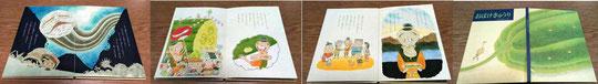 絵本通信教育 絵本創作コース生のオリジナル絵本(プロも習いに来ています)